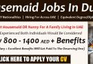 POEA Domestic Worker Jobs In UAE
